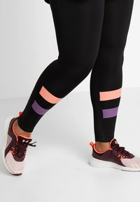 Active by Zizzi - ACLAUDIA KNICKERS - Tights - black - 3