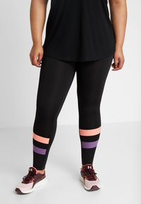 Active by Zizzi - ACLAUDIA KNICKERS - Tights - black - 0