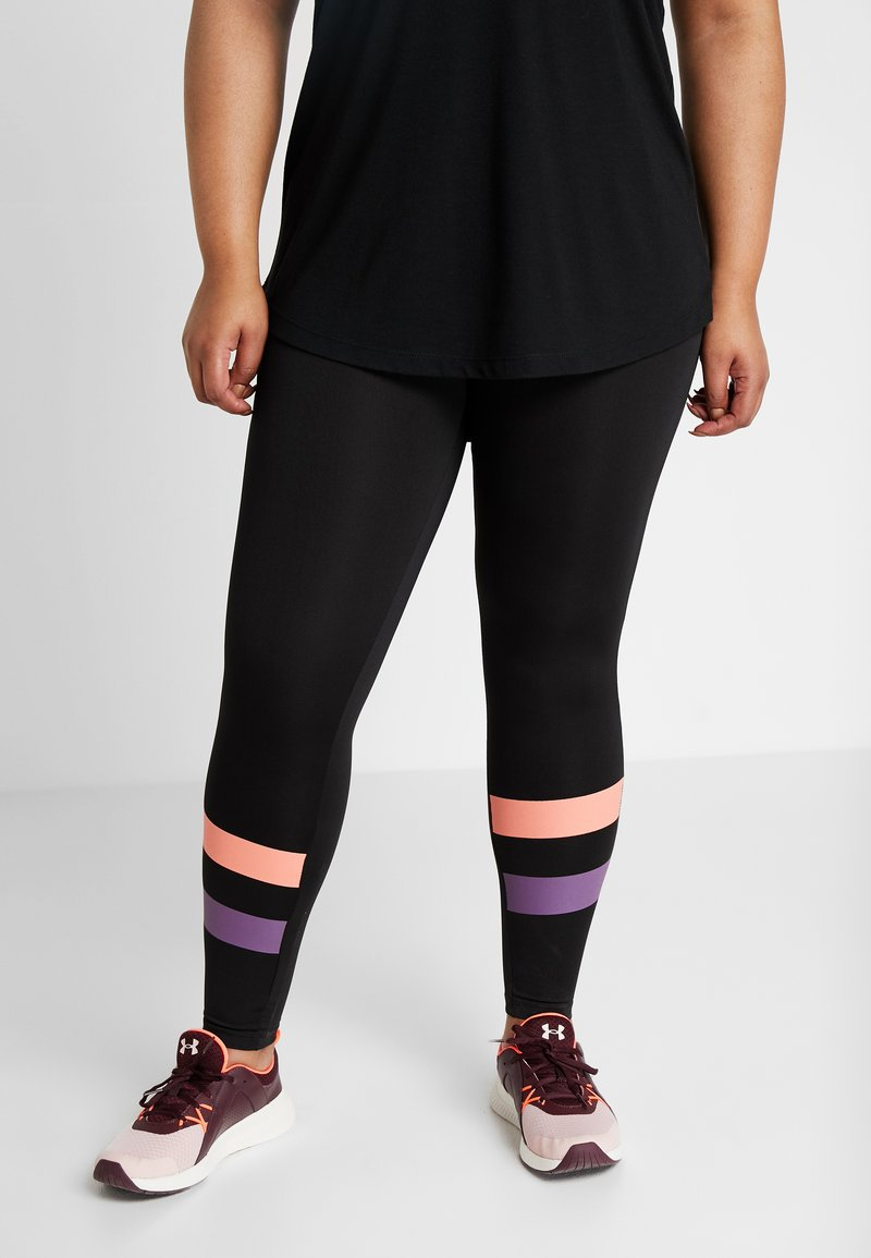 Active by Zizzi - ACLAUDIA KNICKERS - Tights - black