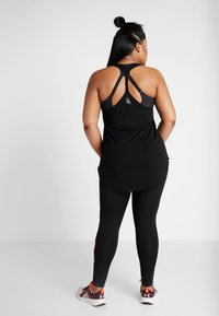 Active by Zizzi - ACLAUDIA KNICKERS - Tights - black - 2