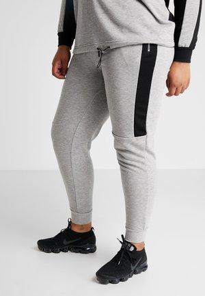 AEXHALE LONG PANT - Verryttelyhousut - grey melange