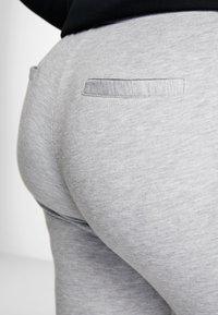 Active by Zizzi - AEXHALE LONG PANT - Pantaloni sportivi - grey melange - 3
