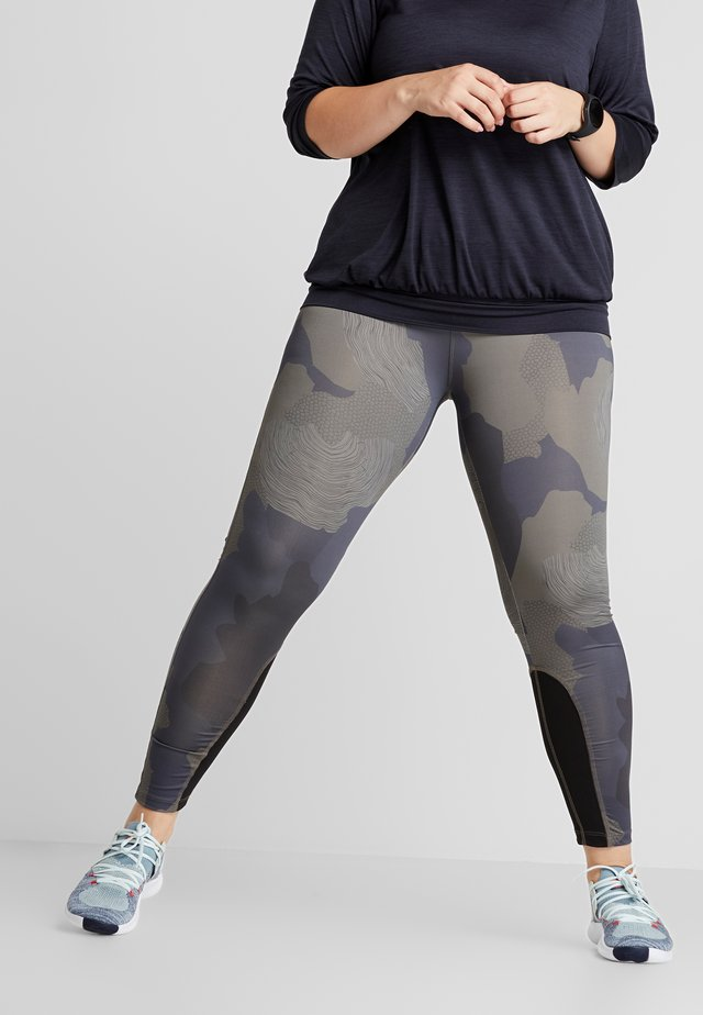 AHARMONY LONG - Leggings - khaki