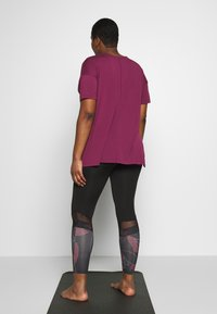 Active by Zizzi - AMEGAN - Collant - pink - 2