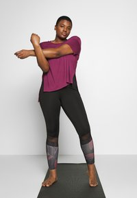 Active by Zizzi - AMEGAN - Collant - pink - 1