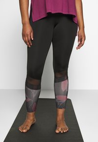 Active by Zizzi - AMEGAN - Collant - pink - 0