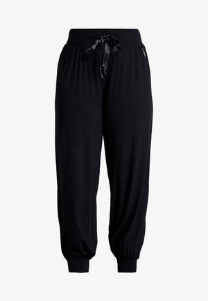 ABETONY PANT - Verryttelyhousut - black