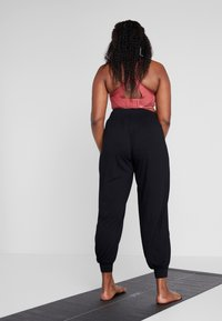 Active by Zizzi - ABETONY PANT - Tracksuit bottoms - black - 2