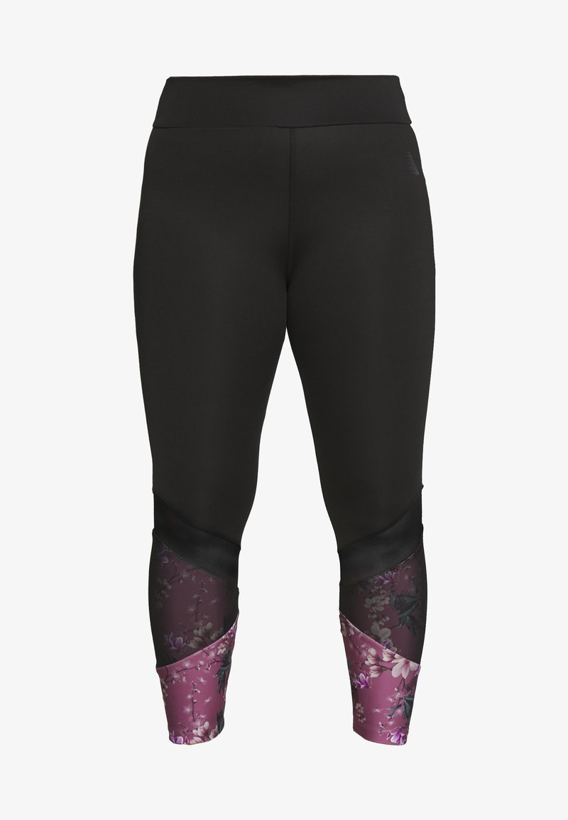 Active by Zizzi - AWISTFULL 7/8 - Legging - wistful mauve