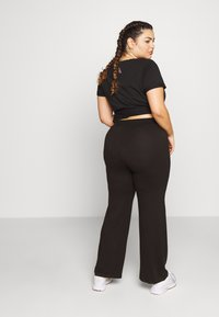 Active by Zizzi - AMOLIS LONG PANT - Pantalon de survêtement - black - 2