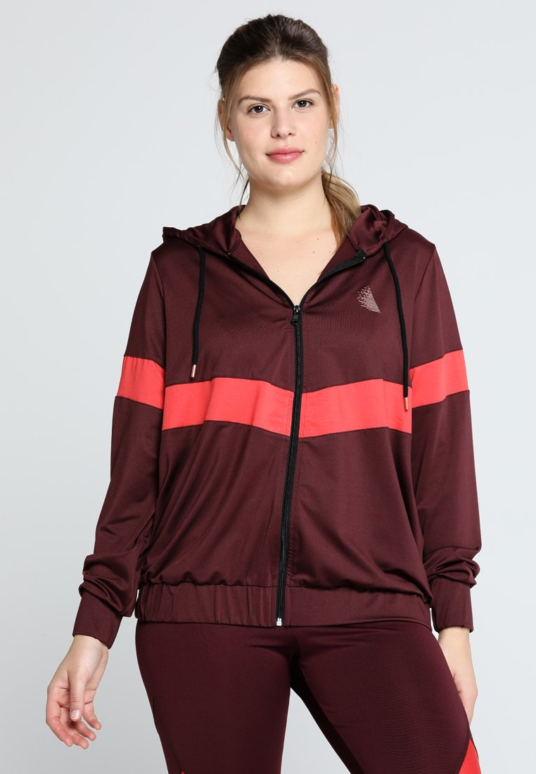 Active by Zizzi - AMOVE JACKET - Trainingsvest - port royal