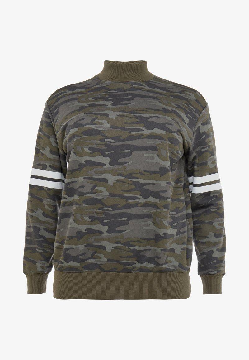 Active by Zizzi - ACARITAS - Sweatshirt - camouflage