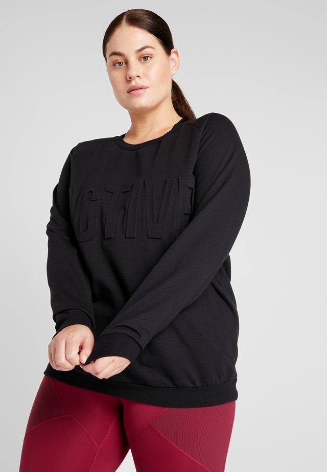 AHANNA  - Sweatshirt - black