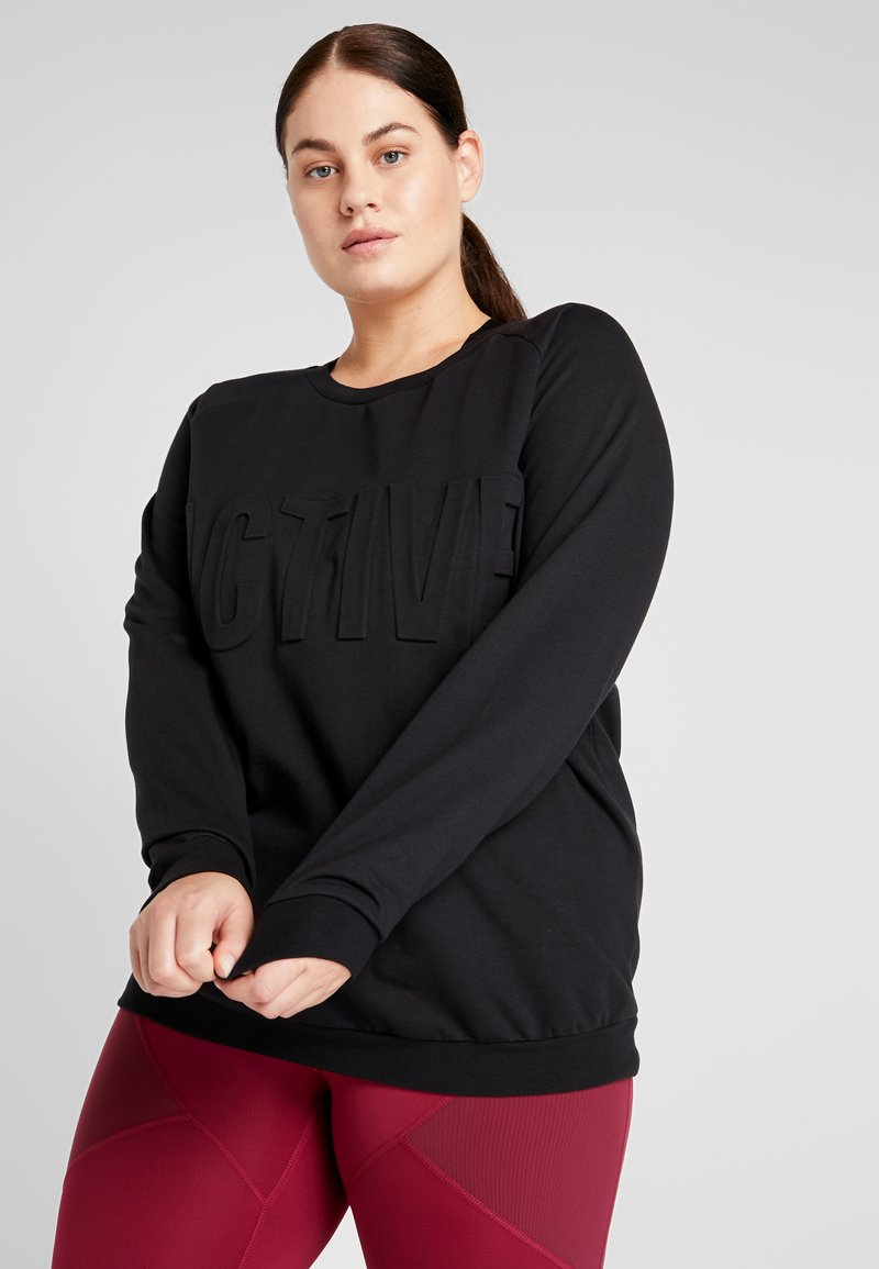 Active by Zizzi - AHANNA  - Sweatshirt - black