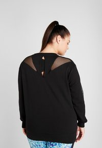 Active by Zizzi - AISABELLE - Sweatshirt - black - 2