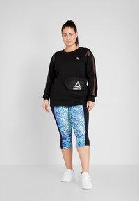 Active by Zizzi - AISABELLE - Sweatshirt - black - 1