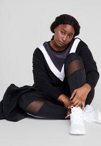 Active by Zizzi - ASEFIKA - Sweatshirt - black comb - 1