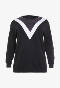 Active by Zizzi - ASEFIKA - Sweatshirt - black comb - 4