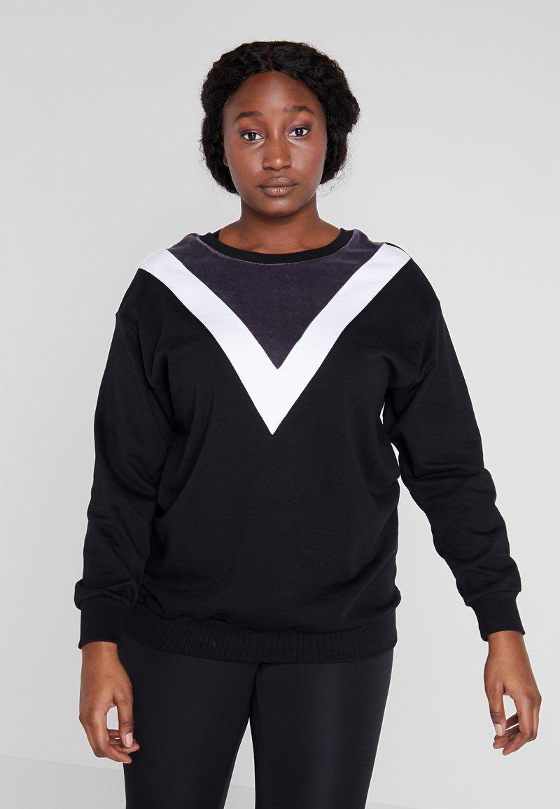 Active by Zizzi - ASEFIKA - Sweatshirt - black comb