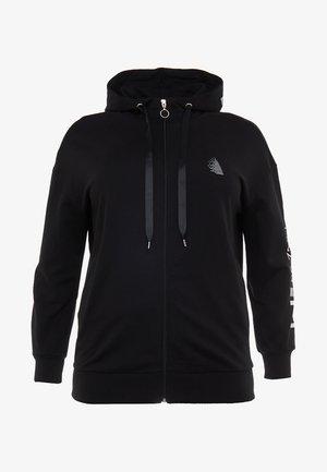 ANOVA - Mikina na zip - black