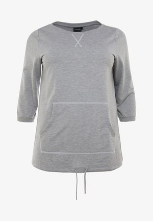 AWILLOW - Sweatshirt - light grey melange