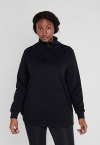Active by Zizzi - ABEGONIA - Sweatshirt - black - 0