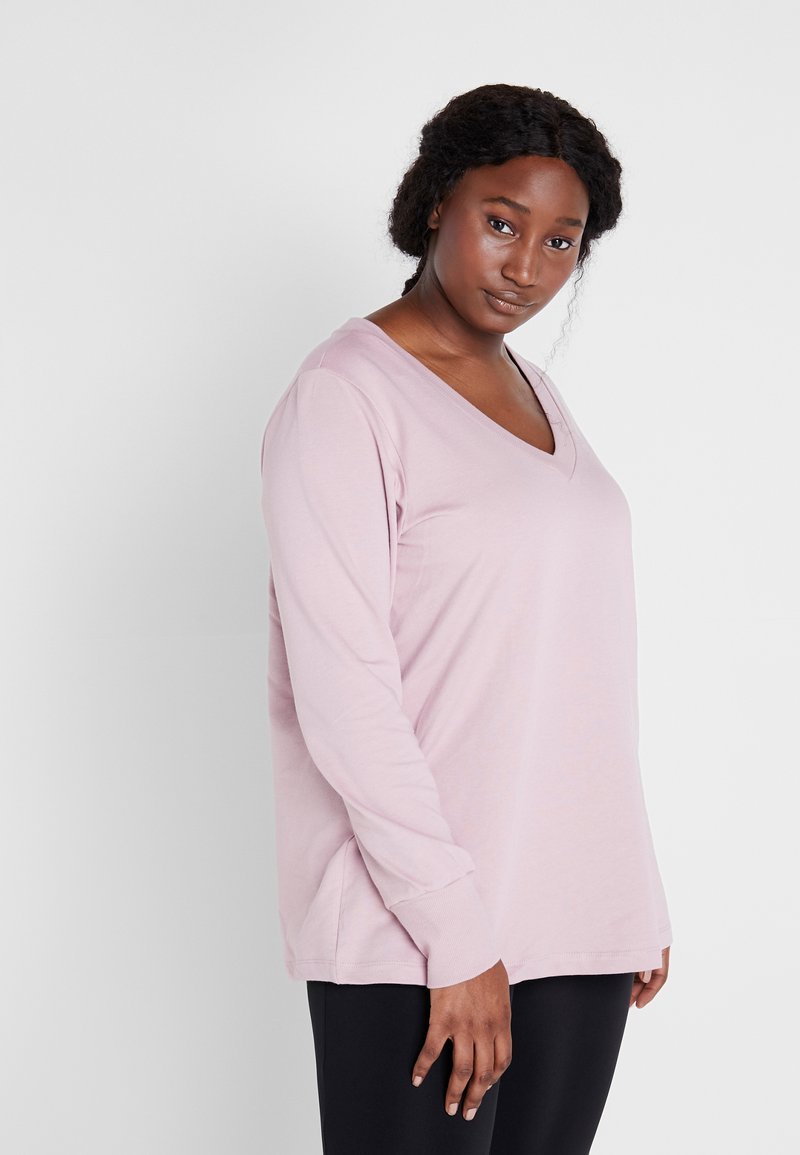Active by Zizzi - AJASMINE - Sweater - keepsake lilac