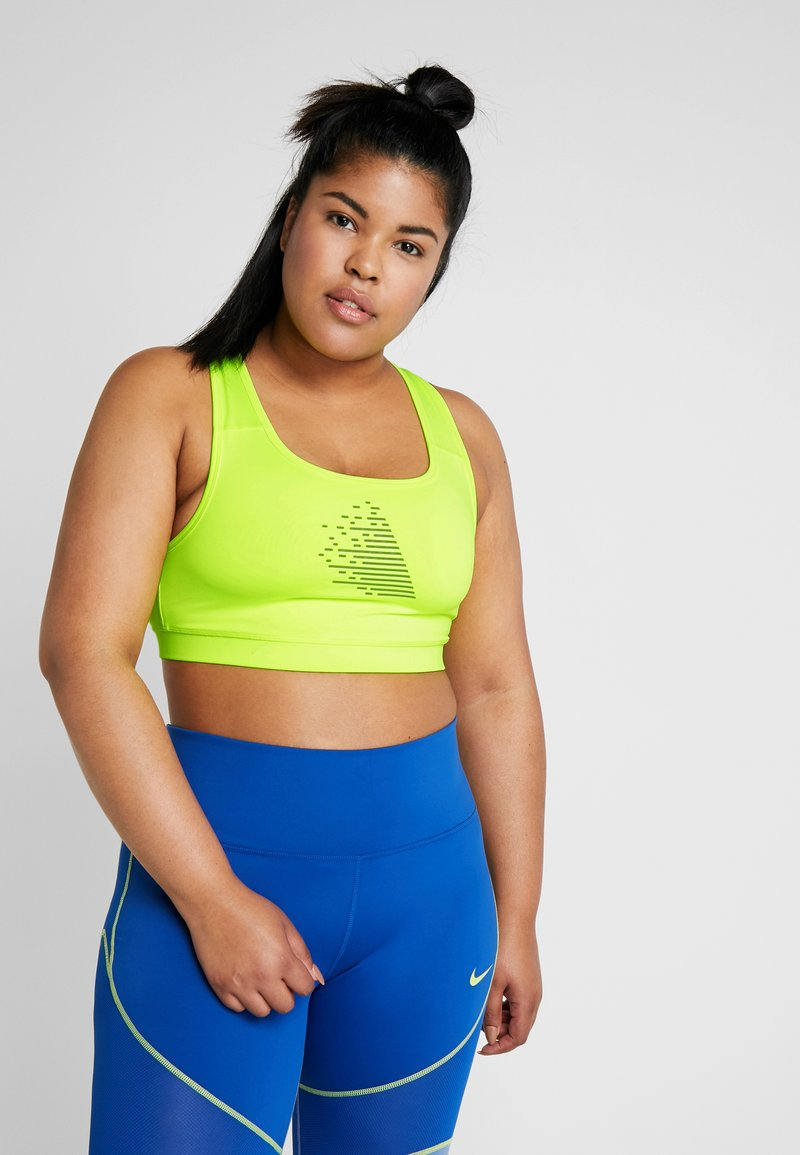 Active by Zizzi - ADORY BRA - Sports-bh'er - neon yellow