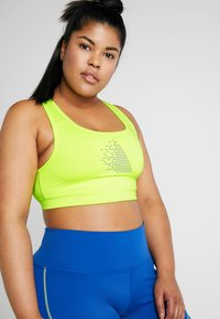 Active by Zizzi - ADORY BRA - Sports-bh'er - neon yellow - 3