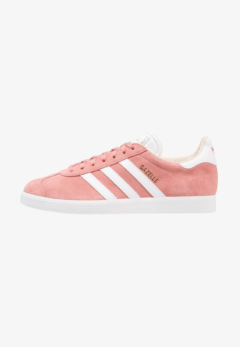 adidas Originals - GAZELLE - Trainers - ash pearl/footwear white