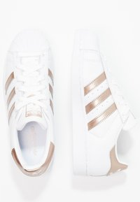 adidas Originals - SUPERSTAR - Sneakers - footwear white/cyber metallic - 1