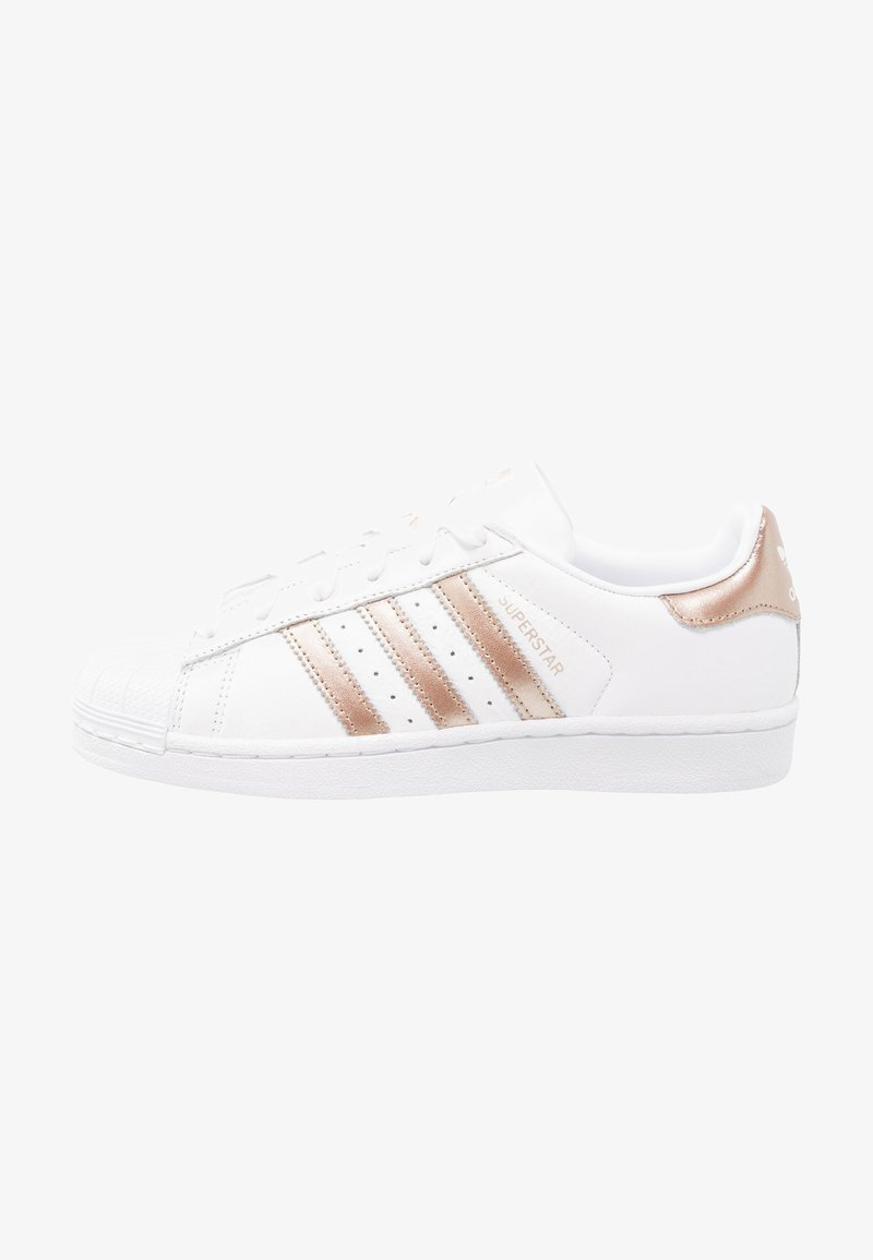 adidas Originals - SUPERSTAR - Sneaker low - footwear white/cyber metallic