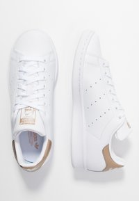 adidas Originals - STAN SMITH - Joggesko - footwear white/copper metallic - 3