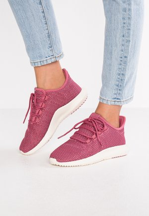TUBULAR SHADOW - Sneakers laag - trace maroon/chalk white/cloud white