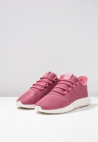 adidas Originals - TUBULAR SHADOW - Sneakers laag - trace maroon/chalk white/cloud white - 4