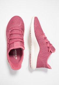 adidas Originals - TUBULAR SHADOW - Sneakers laag - trace maroon/chalk white/cloud white - 3