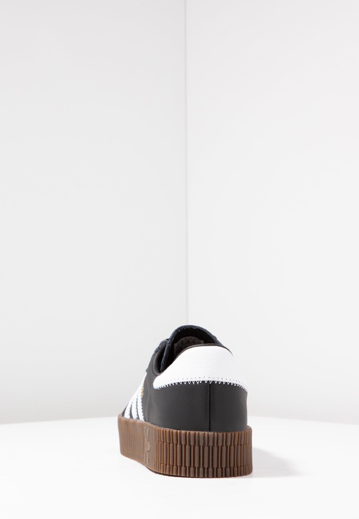 Adidas Originals Sambarose - Baskets Basses Core Black/footwear White nB2nV5Z