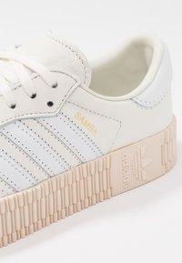 adidas Originals - SAMBAROSE - Sneakers - offwhite/footwear white - 2