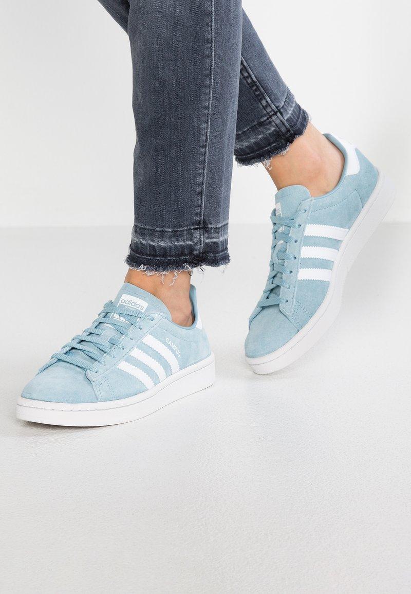 adidas Originals - CAMPUS - Sneaker low - ashgrey/footwear white/crystal white