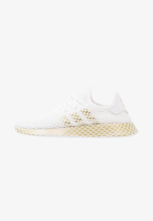DEERUPT RUNNER - Sneakers laag - footwear white/gold metallic