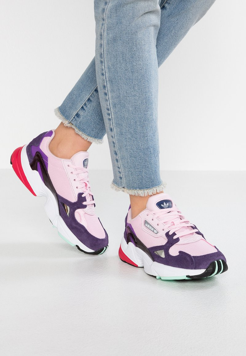 adidas Originals - FALCON - Sneakers - clear pink/legend purple