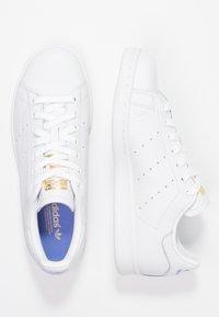 adidas Originals - STAN SMITH - Joggesko - footwear white/real lilac/raw gold - 3