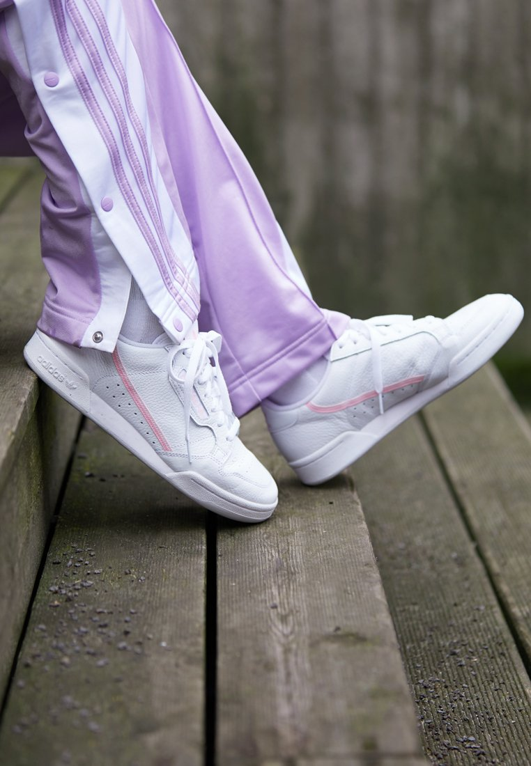 Adidas true Basses White clear Pink Pink Continental Footwear 80Baskets Originals PXn0kO8w