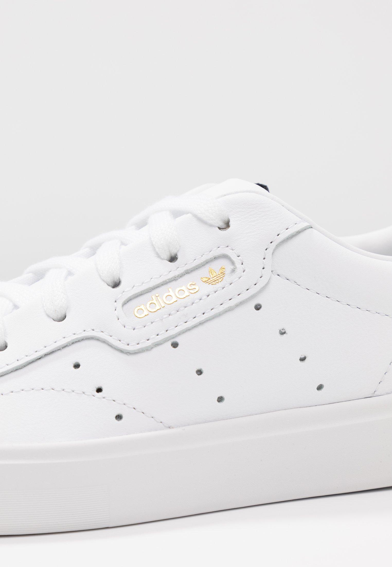 adidas Originals SLEEK - Baskets basses - footwear white/crystal white