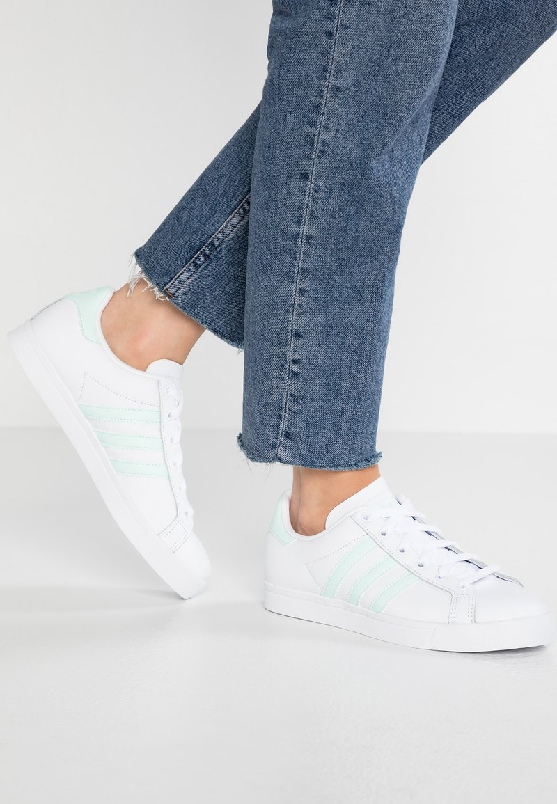 adidas Originals - COAST STAR - Sneakers basse - footwear white/ice mint
