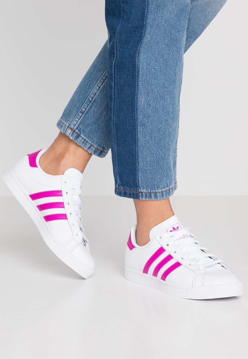 adidas Originals - COAST STAR - Sneakers - footwear white/vivid pink