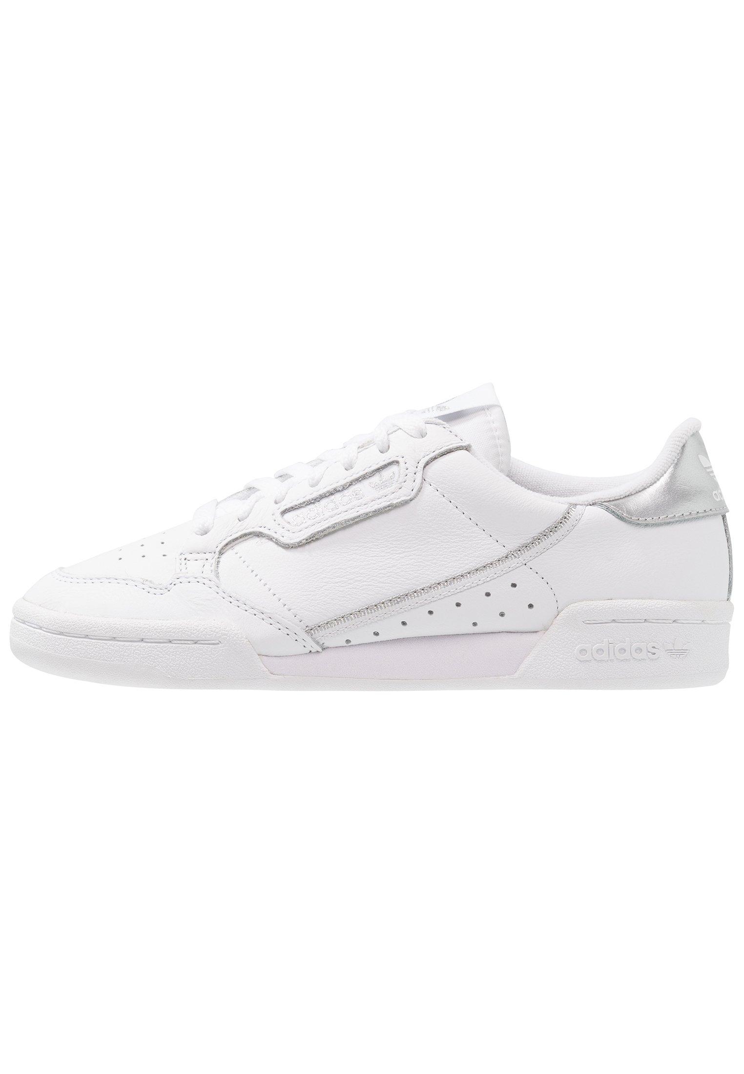 adidas Originals CONTINENTAL 80 - Baskets basses - footwear white/silver metallic
