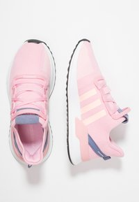 adidas Originals - PATH RUN - Sneakers laag - true pink/clear orange/core black - 3