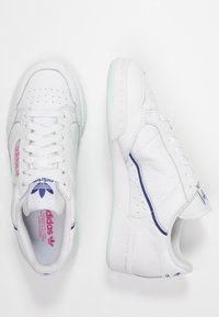 adidas Originals - CONTINENTAL 80 - Sneaker low - footwear white/ice mint/active blue - 3