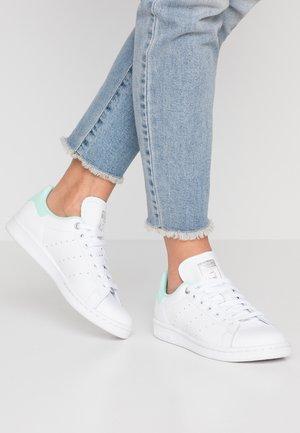 STAN SMITH - Trainers - footwear white/silver metallic/clear mint
